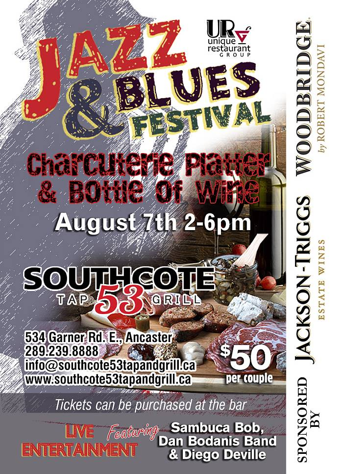 AUGUST 7TH - JAZZ & BLUES FESTIVAL