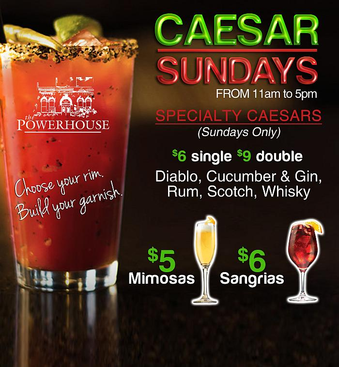 Ceasar Sundays - Powerhouse
