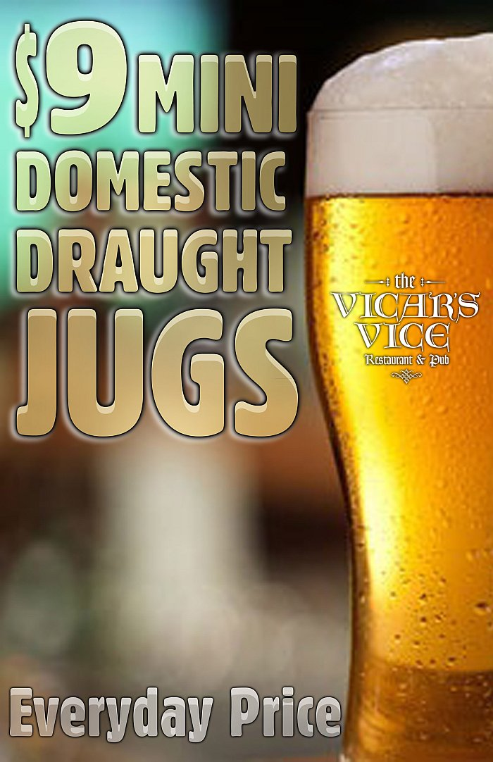 $9 Domestic Jugs