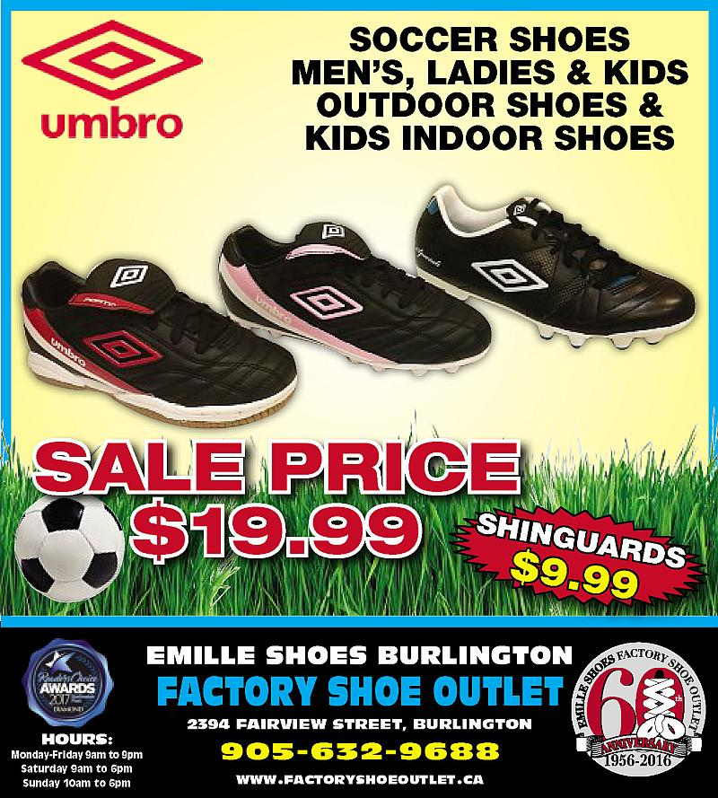 8, square feet of brand name shoes at discount prices we're Factory Shoe Outlet in Burlington. We carry men's, women's, children's and safety quality footwear. We are the 1st choice for footwear in Burlington and Oakville. Come visit us and be amazed at the number of shoes we carry/5(4).