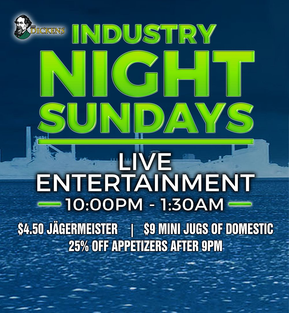 INDUSTRY NIGHTS - SUNDAYS
